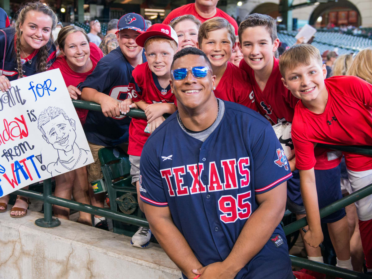 Houston, J.J. Watt Charity Classic, May 2017, Christian Covington