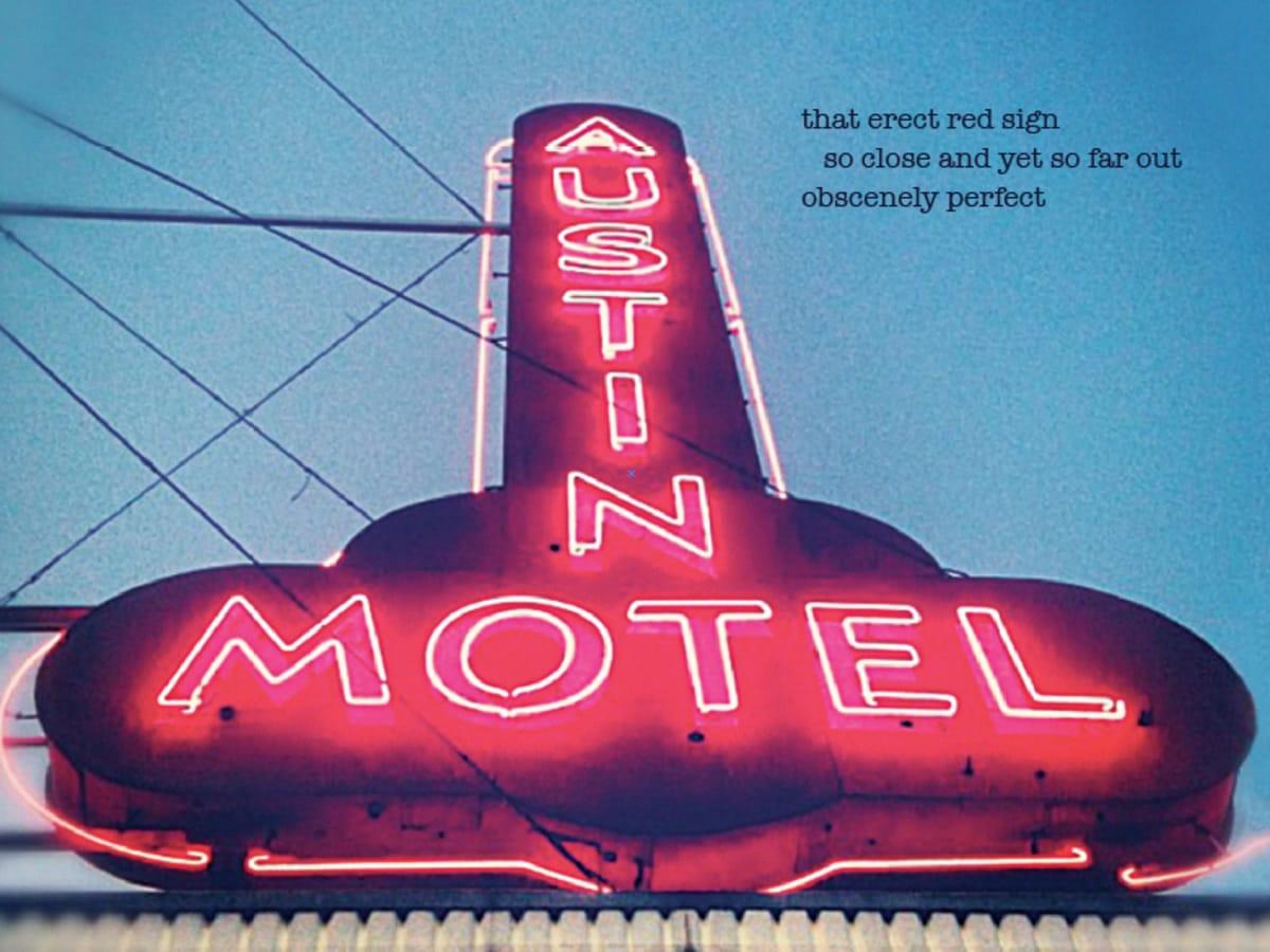 Haiku Austin book cover poetry Austin Motel Carlotta Eike Stankiewicz 2016