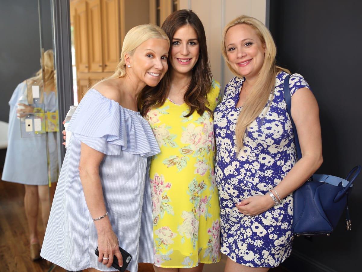 Miya Shay baby shower, 6/16 Natalie Wall, Laura Rose, Erica Rose.
