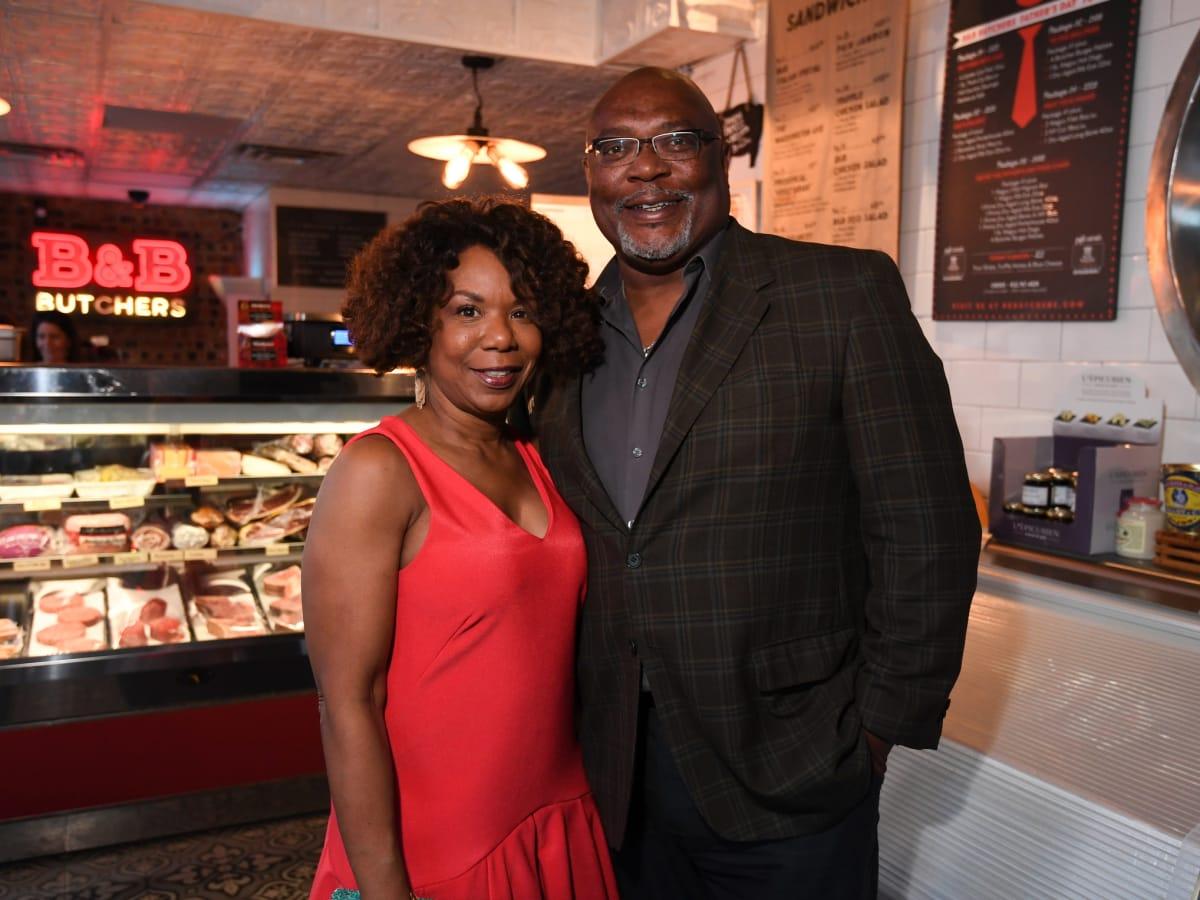 B&B 1st Anniversary, 6/16 Elaine Jefferson, Dwight Jefferson