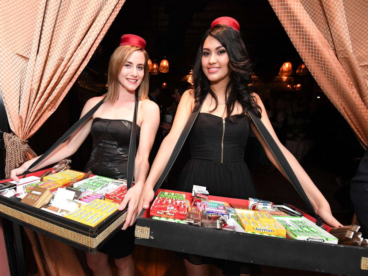 B&B 1st Anniversary, 6/16 cigarette girls