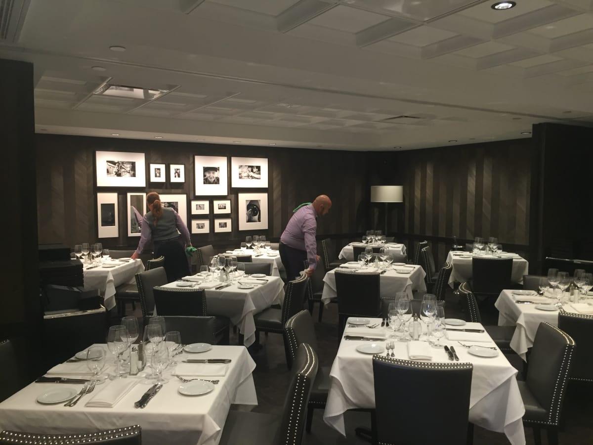 Steak 48 dining room
