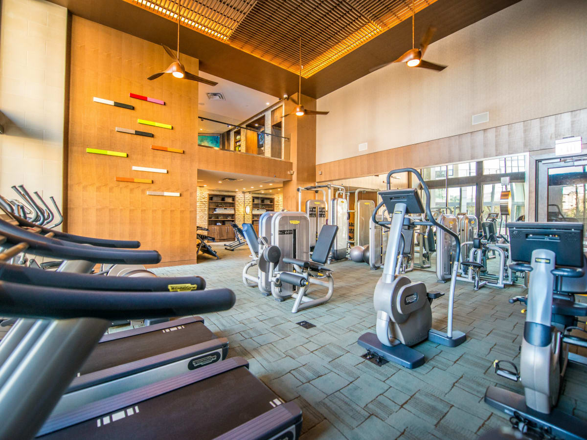 The Taylor fitness center