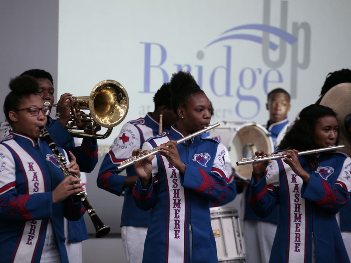 Menninger Bridge Up Kashmere High School Band