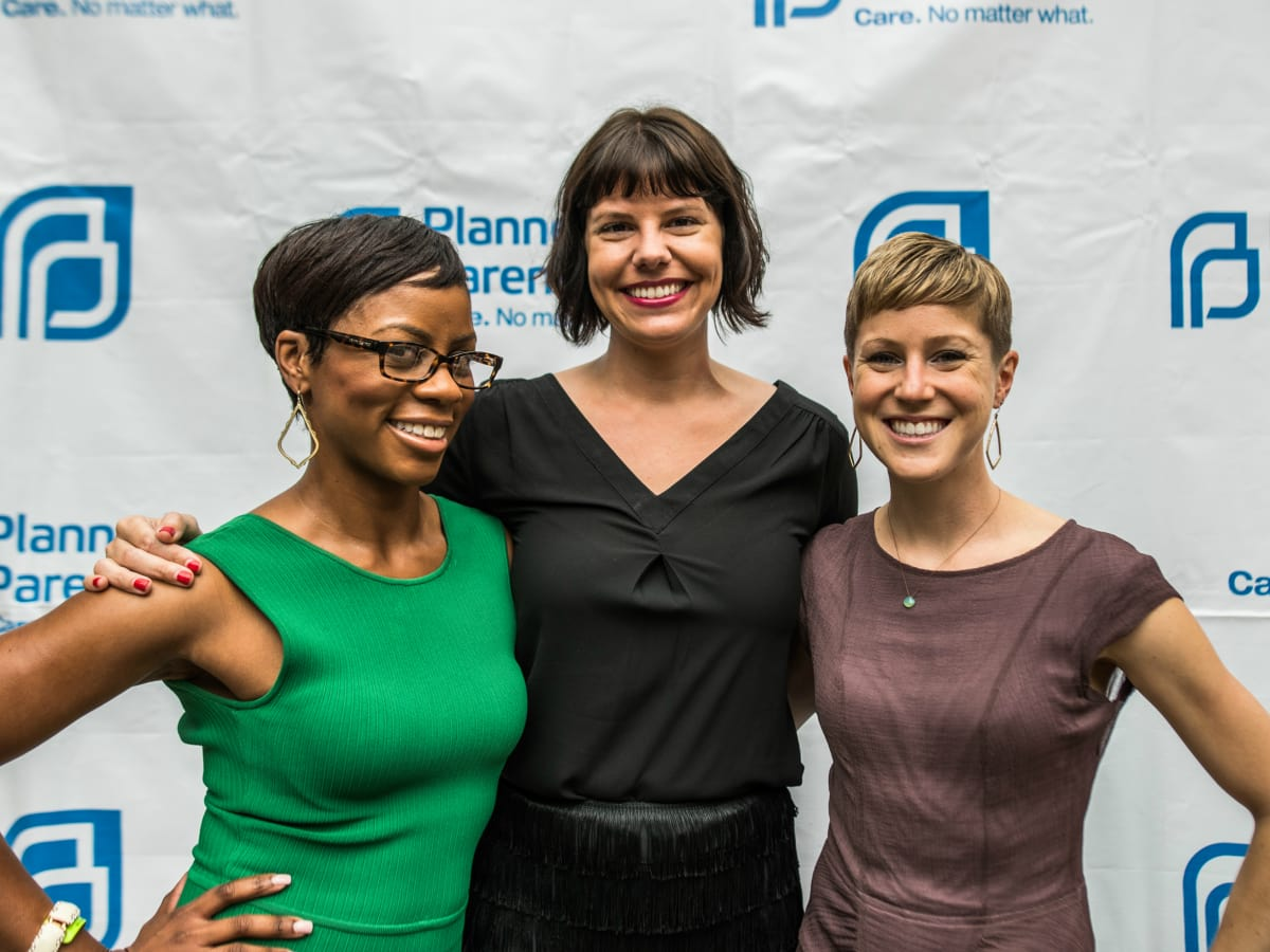 Planned Parenthood Cocktails for a Cause 2016 Shavonne Henderson Alissa Parsley Katie Hansen