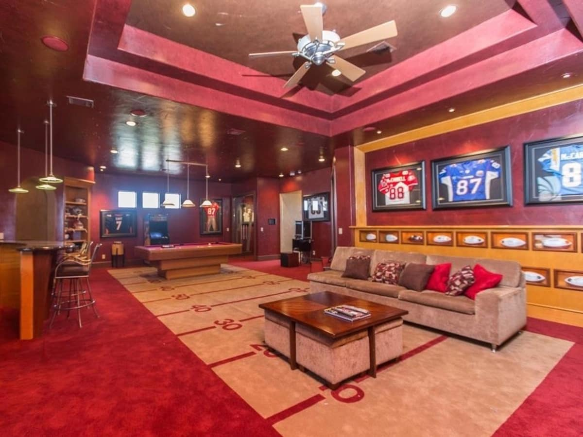 ayer Keenan Wayne McCardell's Fresno mansion game room