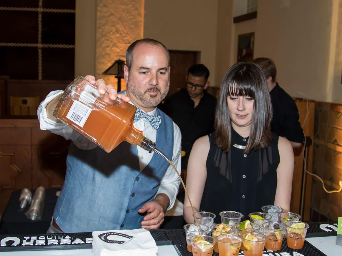 Mansion Bar bartender Danny Caffall