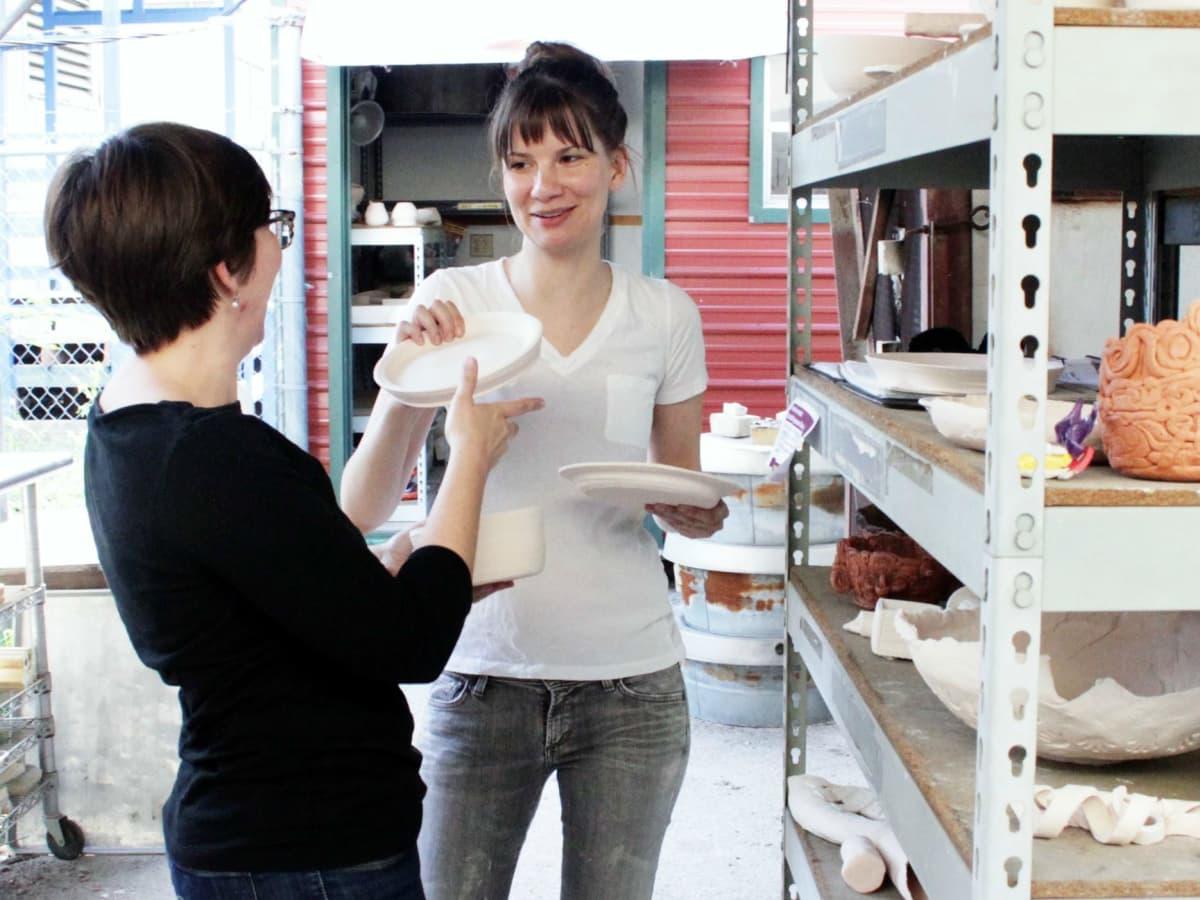 Pottery classes Austin