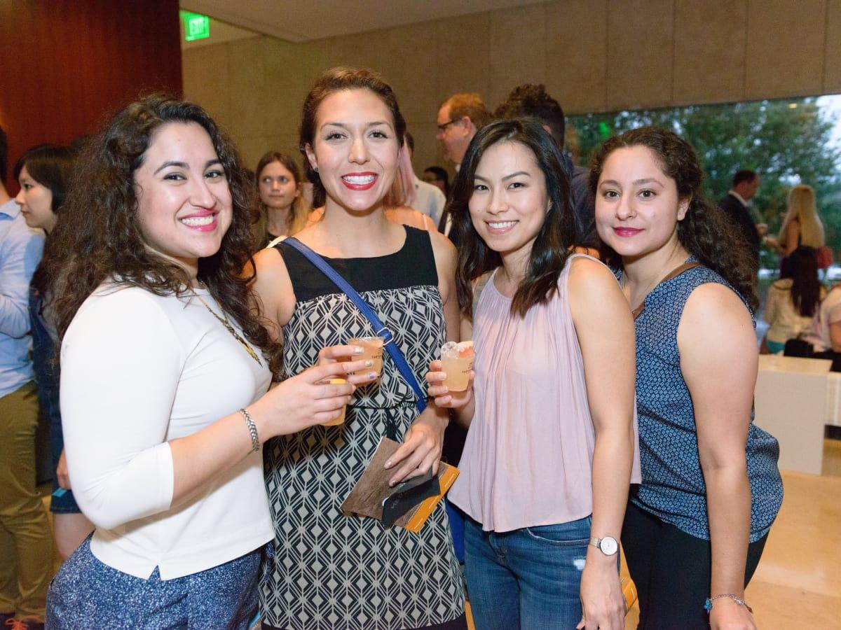 Tastemakers Houston 5/16 Claudia Trevino, Pamela Angeles, Jiin Phan, Sara Trevino
