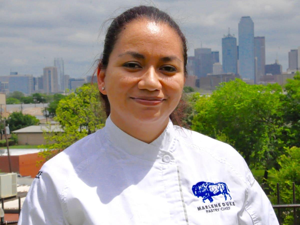 Pastry chef Marlene Duke