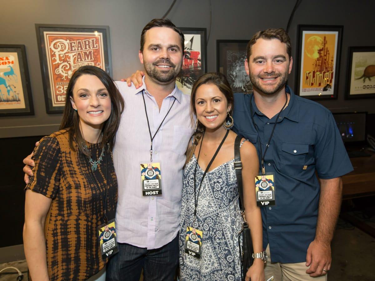 HAAM Corporate Battle of the Bands 2016 Katie Strait Clint Strait Jessica Goward Curtis Goward