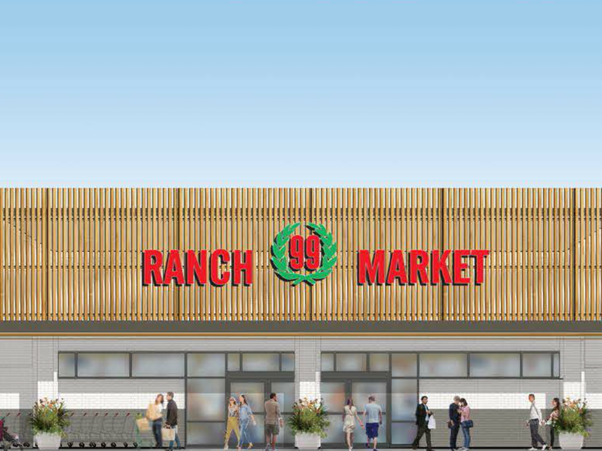 99 Ranch Market grocery store Asian supermarket Austin Crecent rendering Misuma Holdings CBRE