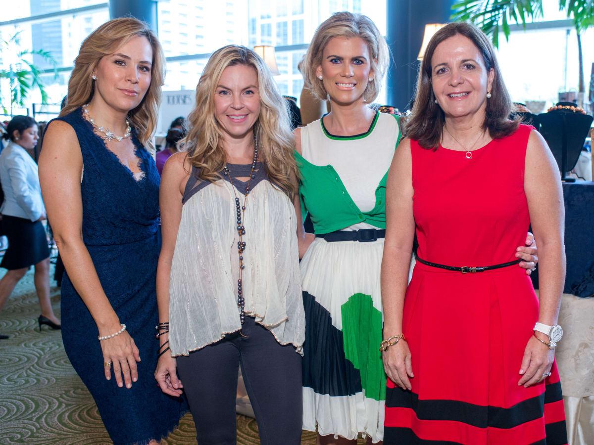 Latin Women's Initiative luncheon 5/16,  Ana Aiza, Gemma Joffroy, Marisol Leiva, Isabel Torres.