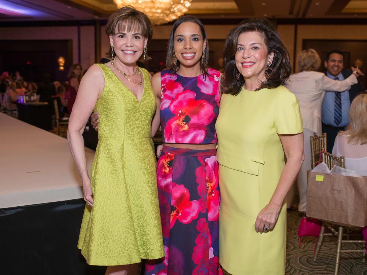 Latin Women's Initiative luncheon 5/16, Hallie Vanderhider, Lacey Dalcour Salas, Dancie Ware
