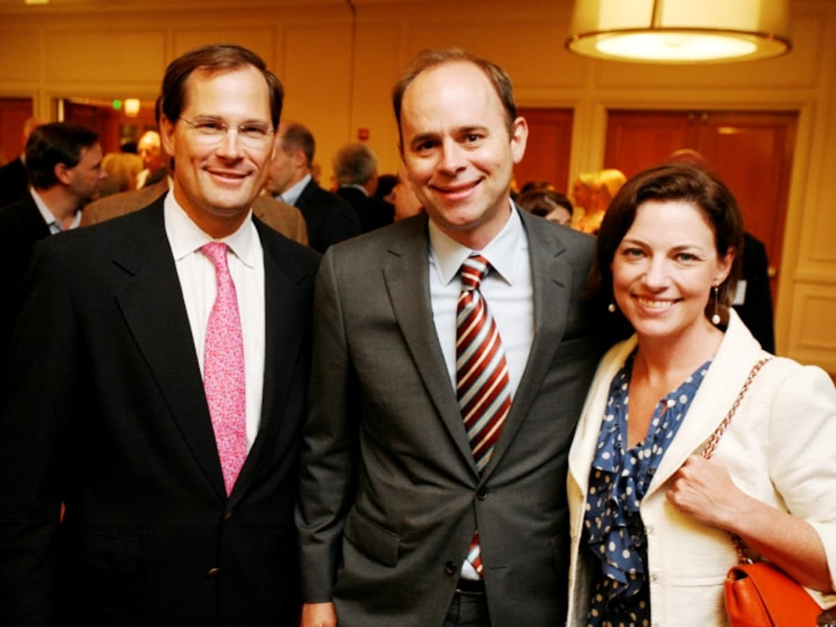 Houston, Menninger Clinic Annual Luncheon, May 2016, Will Robertson, Brett Hogan, Cullen Geiselman