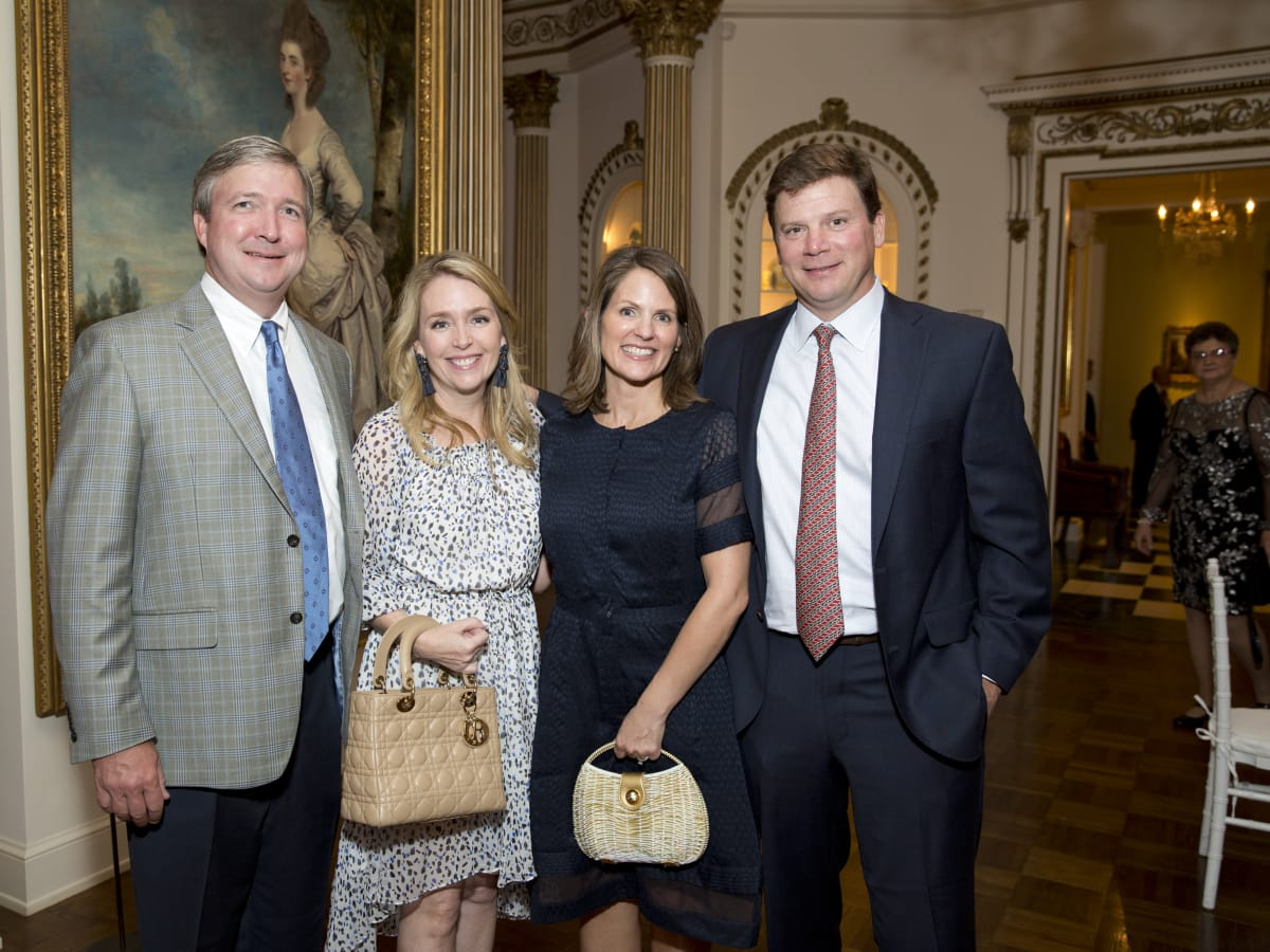Rienzi Spring Party, 5/16 John and Angie Reckling; Georgie and Dane Stewart