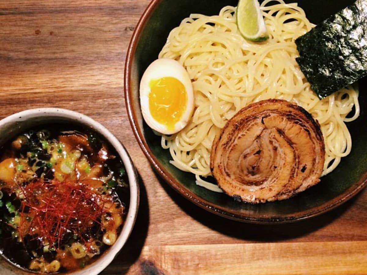 Ramen Tatsu-ya bowl noodle dish tsukemen