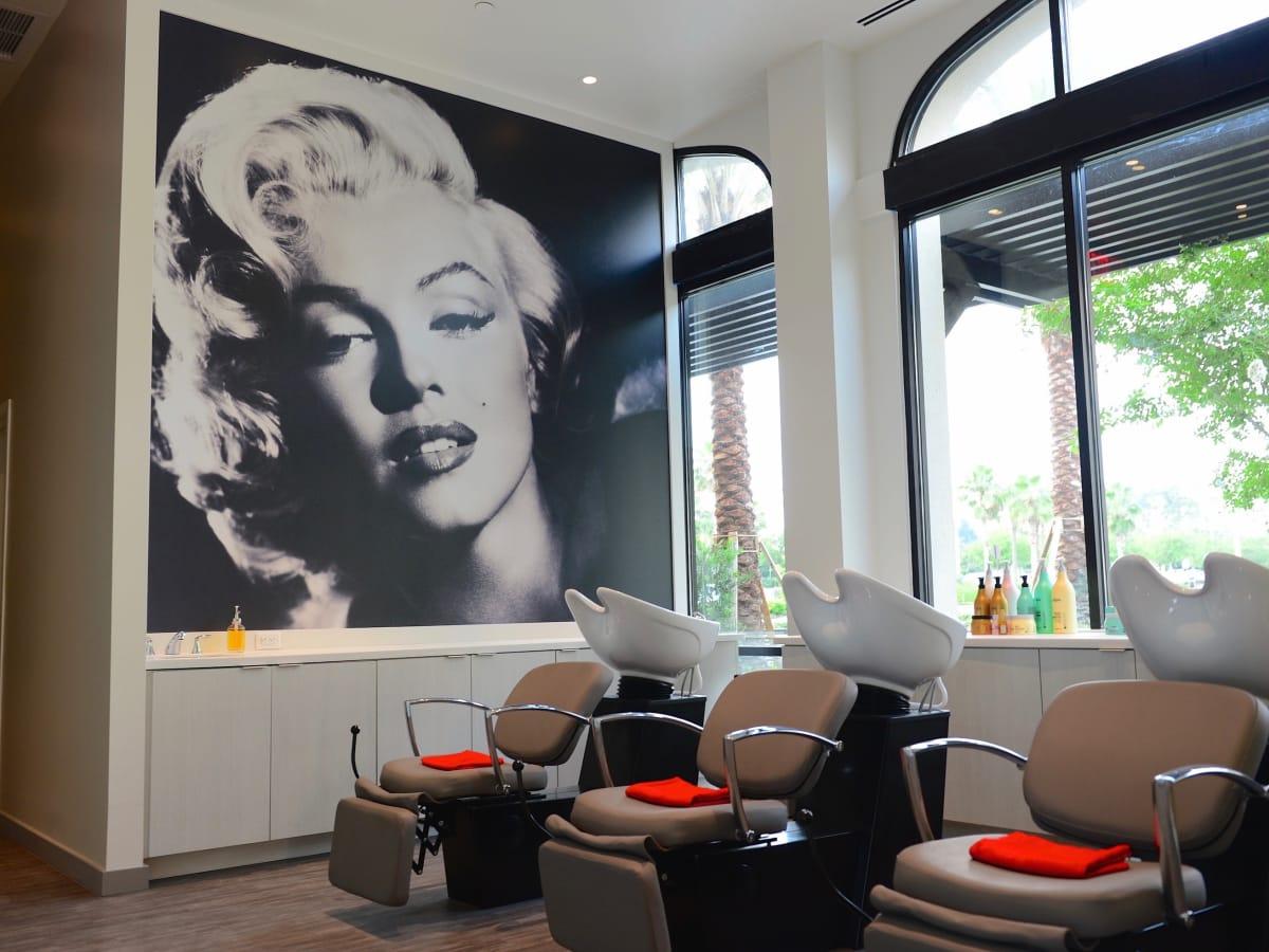Marilyn Monroe Spa interior
