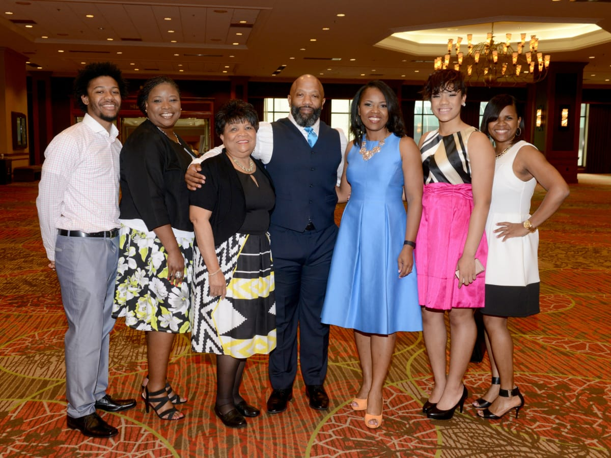 D'Andre Burch, Kathy Talton, Eria Smith, Don Burch, Irish Burch, Dawn Burch, Roshanda Richmond