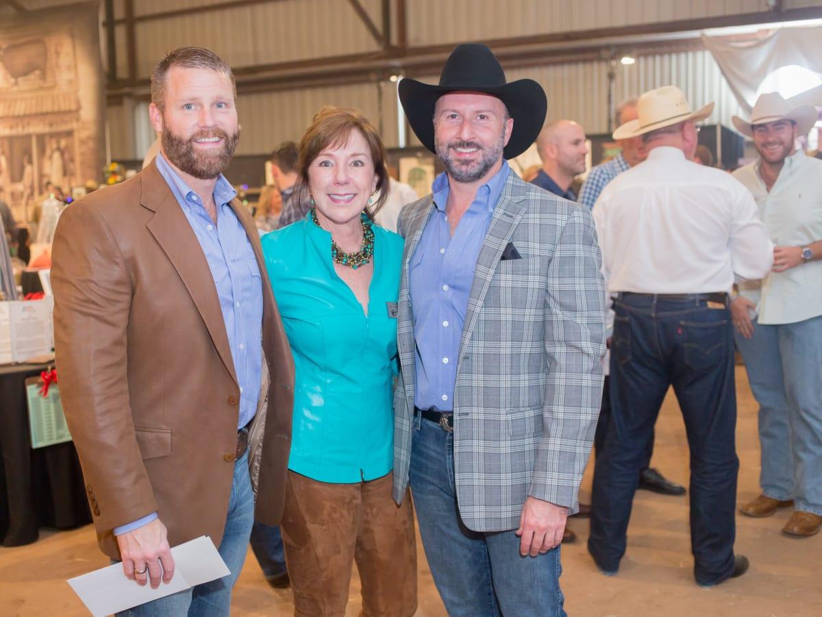 Cattle Barons Ball, 4/16, Kevin Black, Elizabeth Stein, Tony Bradfield