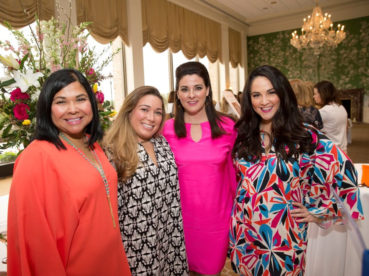 Heroes and Handbags 4/16, Diane Cavazos, Melissa Mullin, Elaine Turner, Meredith Wierick