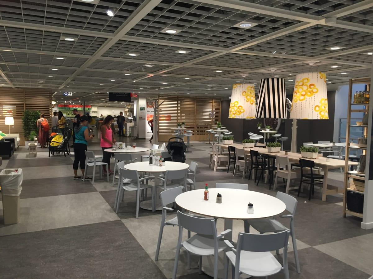Ikea restaurant remodel
