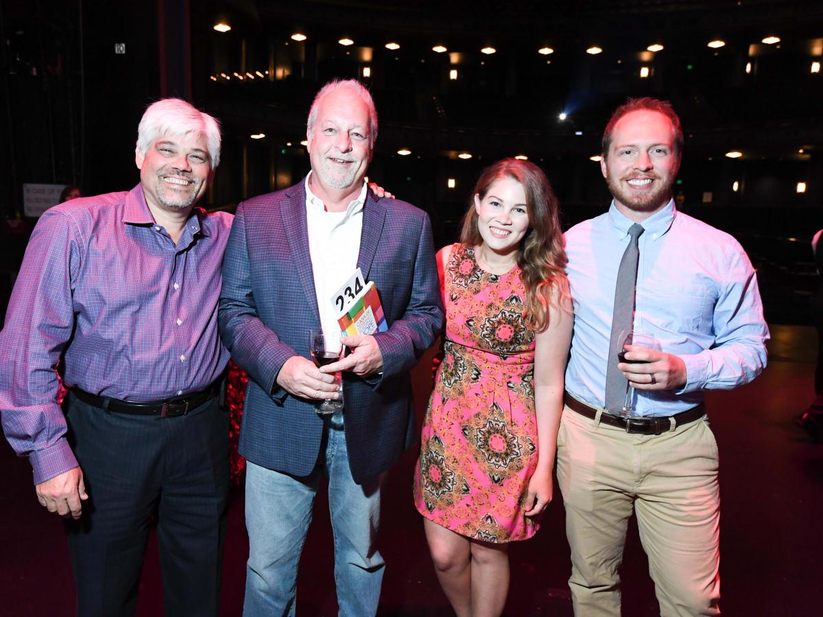 Casa de Esperanza dinner 4/16 James Bryant, Ken Grieco, Abby Bryan, John Williford