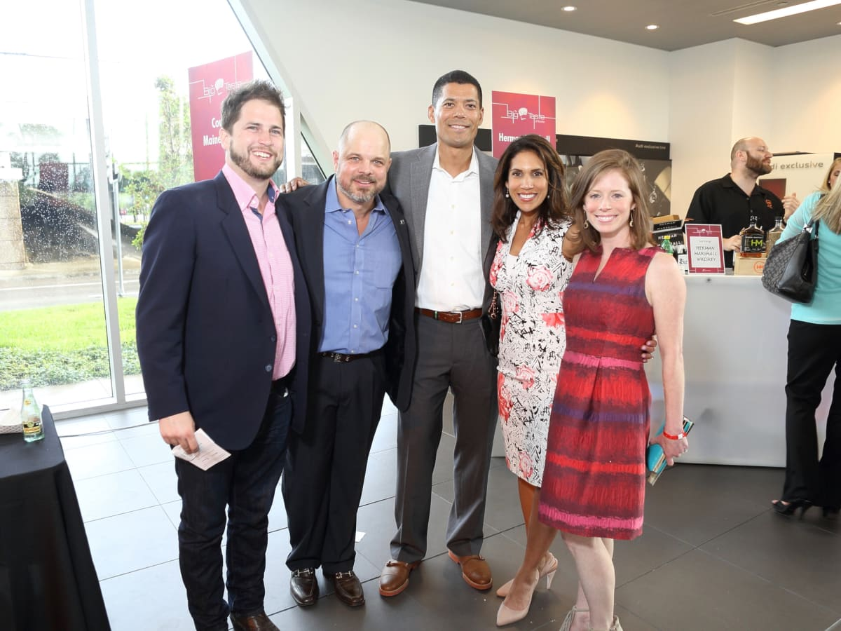 BBBS Big Taste Nick Scurfield, Matt Harris, Dr. Wayne Franklin, Rachel McNeill, Holly Wilbanks