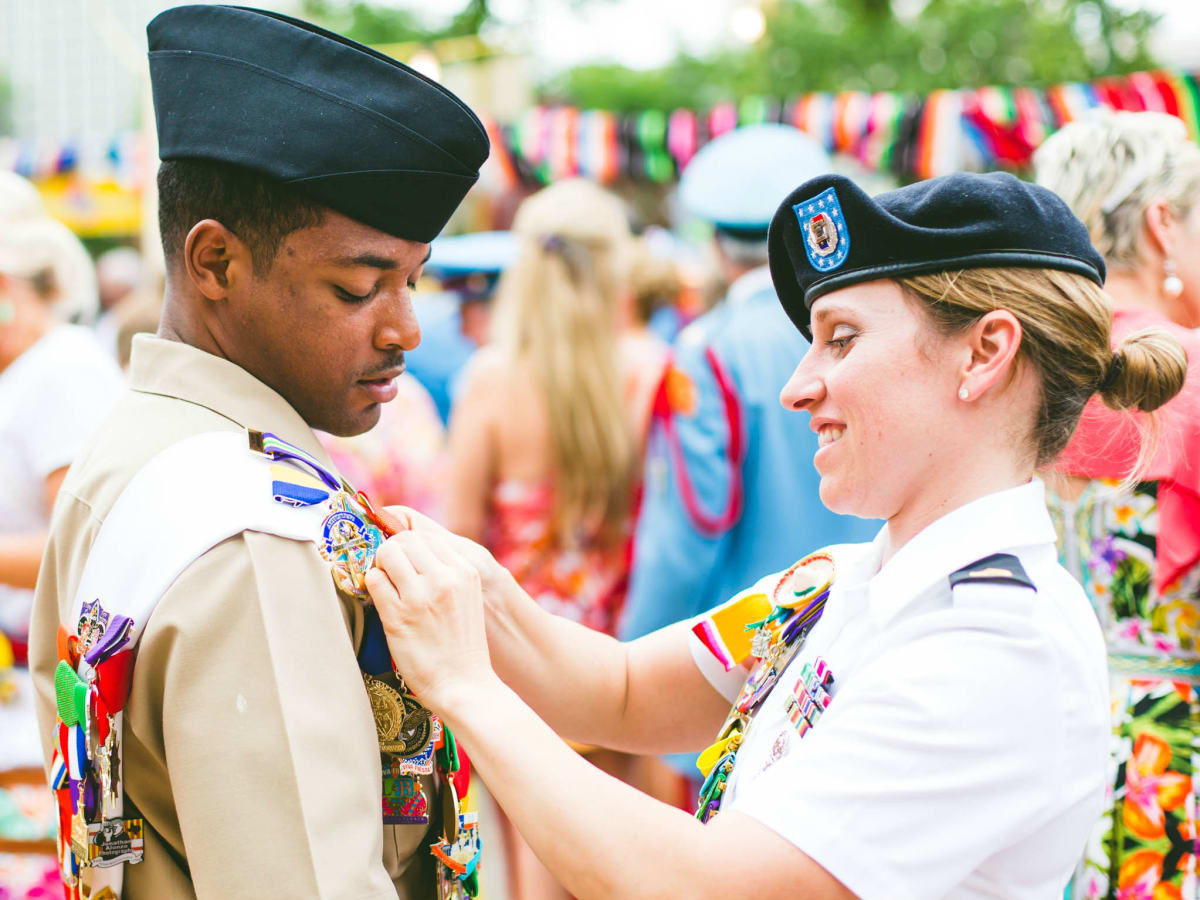 Military ambassadors Fiesta San Antonio