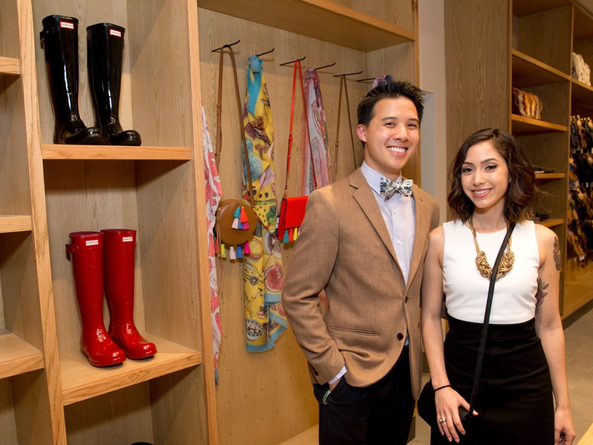 Saint Bernard Opening, Anthony Tran, Stephanie Deleon