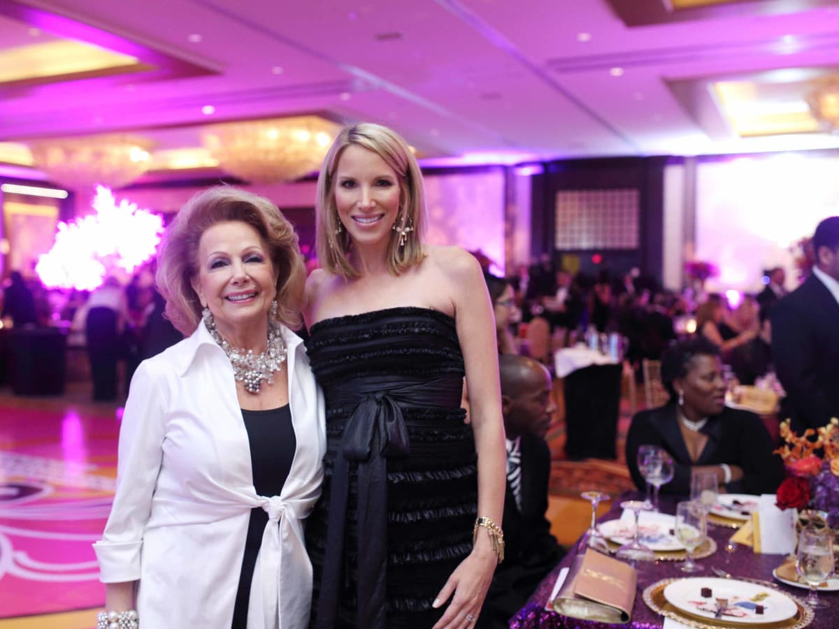 HCC Foundation gala 4/16, Philamena Baird, Ilona Carson
