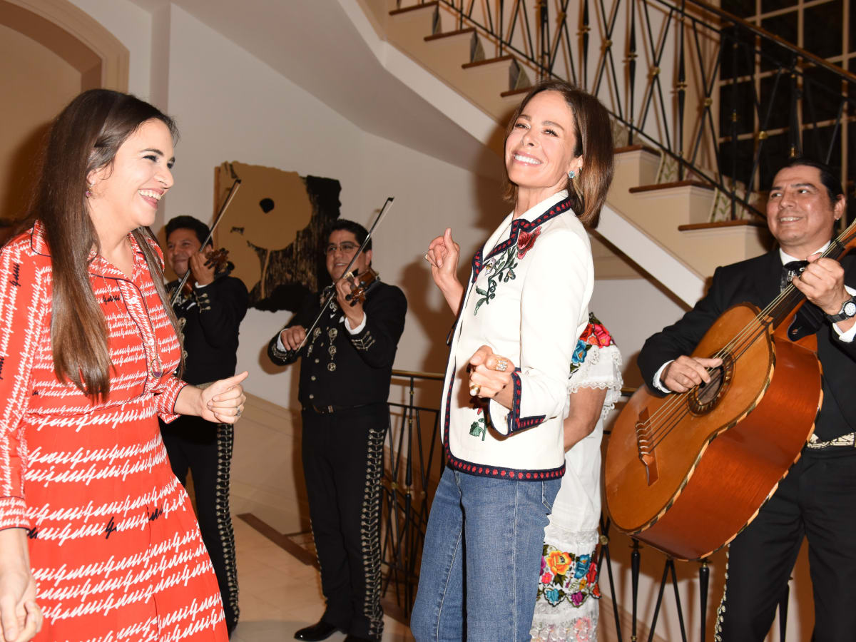 The Webster house party 4/16 Laure Heriard Dubreuil, Allison Sarofim