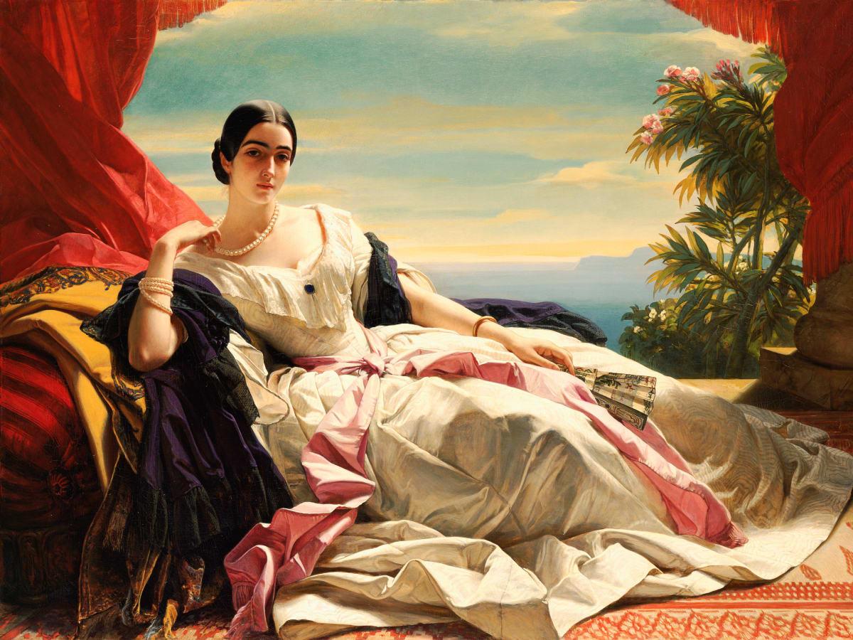 Winterhalter - Princess Leonilla of Sayn-Wittgenstein