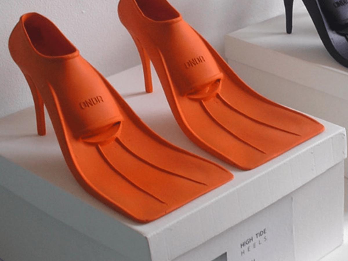 Rain Boots, Paul Schietekat High Tide Heels, conceptual art