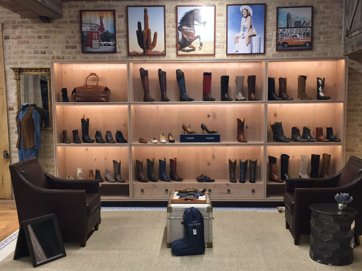 Lucchese at Allens Boots
