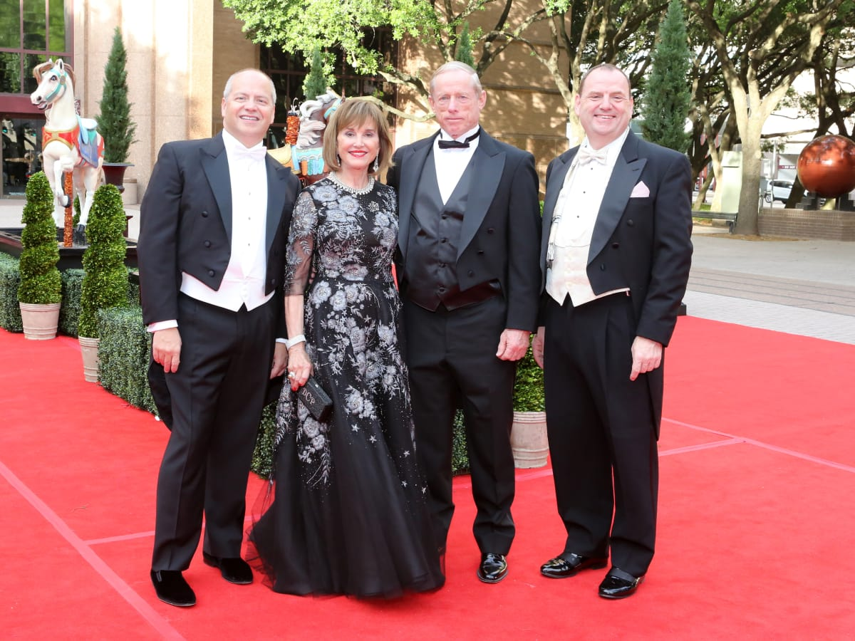 Houston Grand Opera Ball, 4/16 Patrick Summers, Donna Josey Chapman, Max Chapman Jr., Perryn Leech
