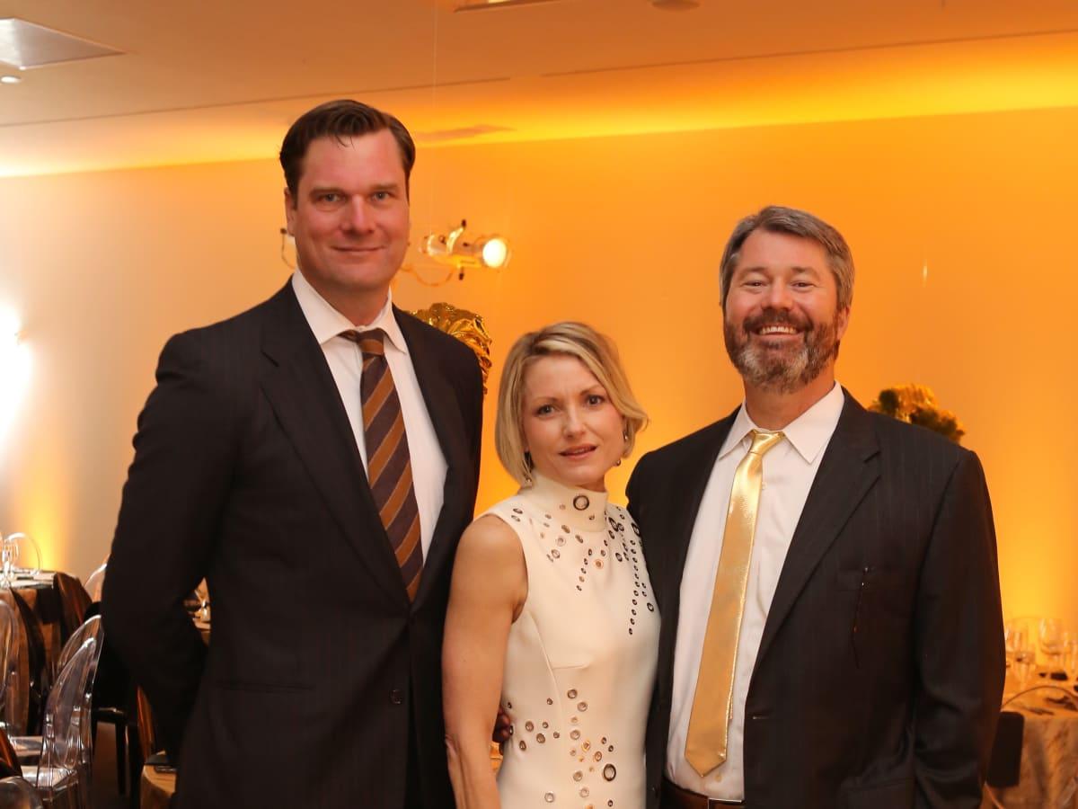 Blaffer Art Museum Gala, April 2016, John Blaffer Royall, Bridget Wade, Patrick Wade