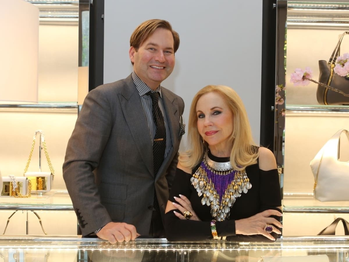 Alan May, Carolyn Farb at Blue Cure party at Tom Ford