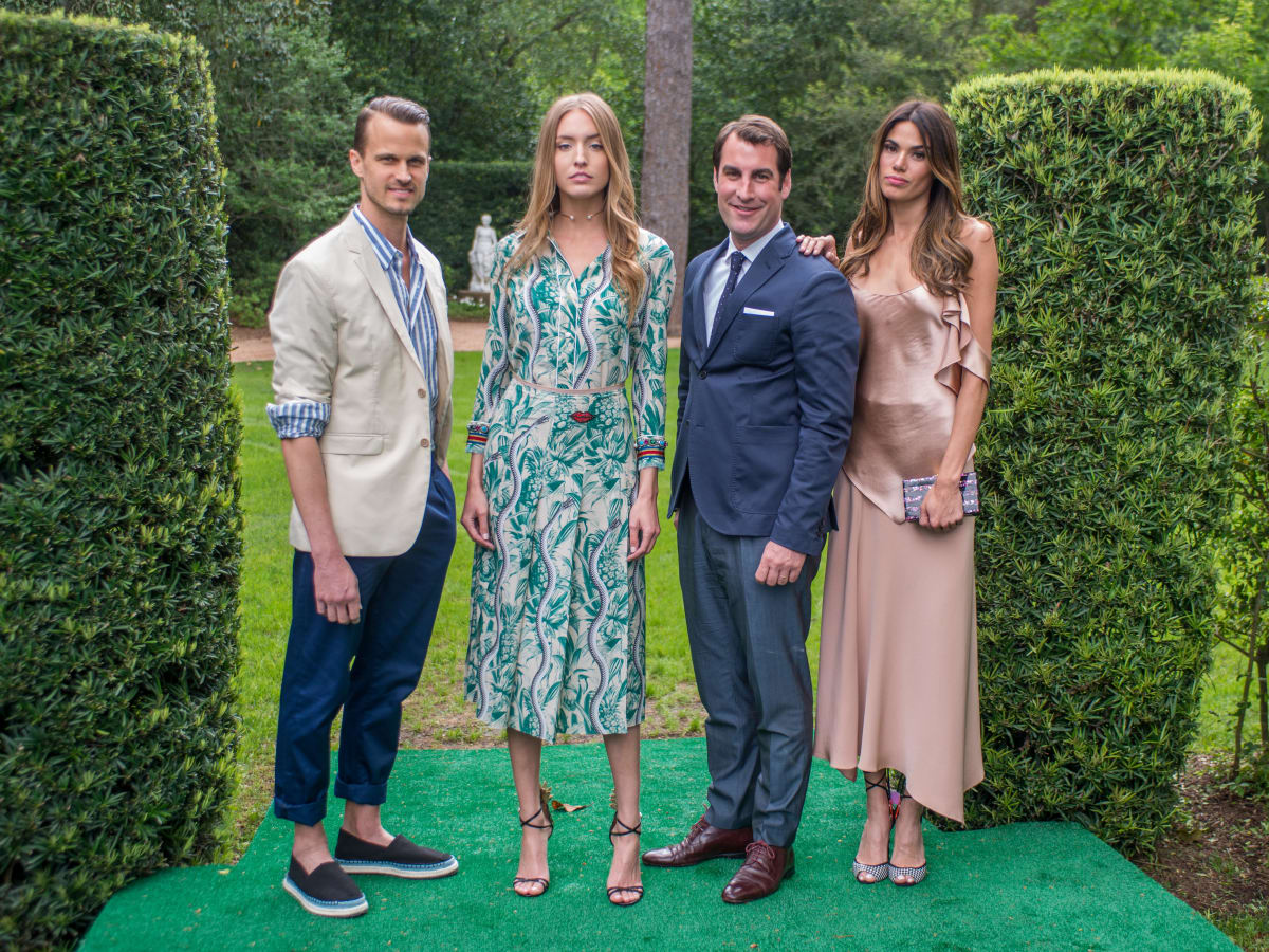 Bayou Bend luncheon, April 2016, Models for The Webster and xxx