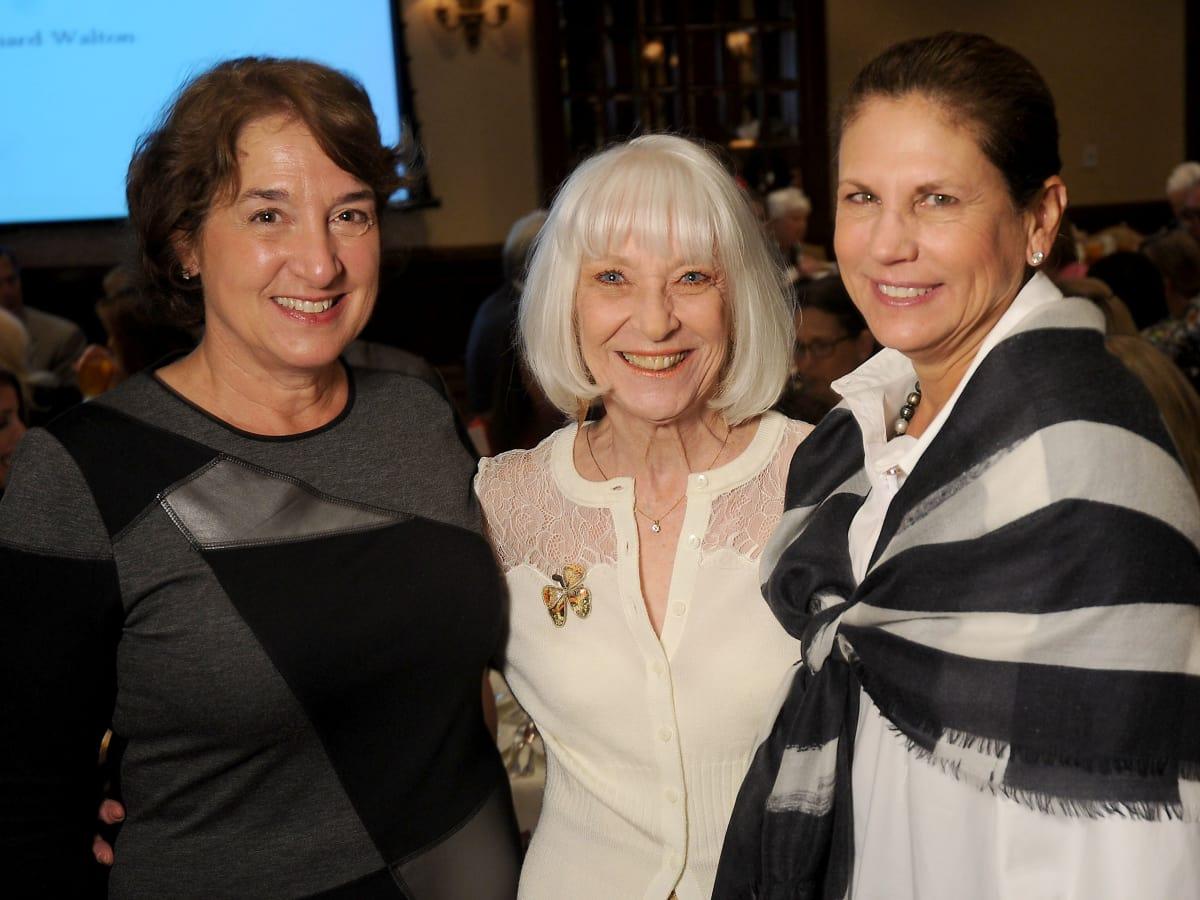 Hospice Butterfly Luncheon, March 2016, Jes Hagle, Cynthia Nordt, Nancy Ruez
