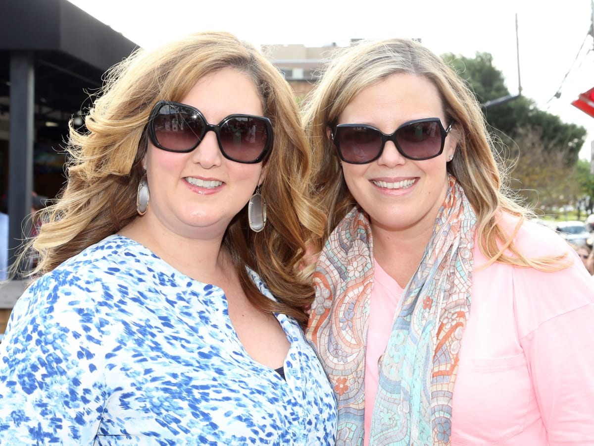 Women of Wardrobe Spring Fling, March 2016, Liz Schaffner, Melissa Sugulas