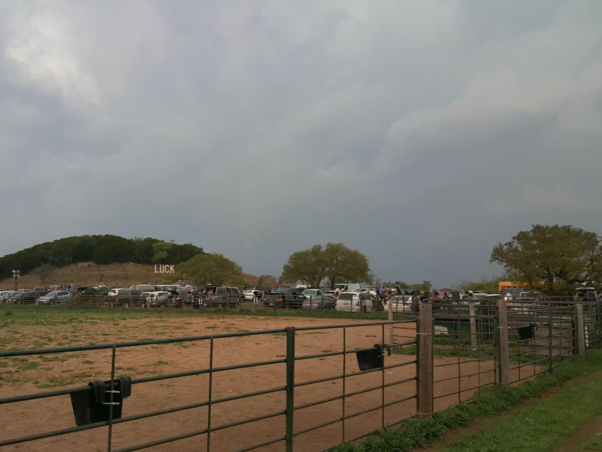 Luck Reunion 2016 Texas storm