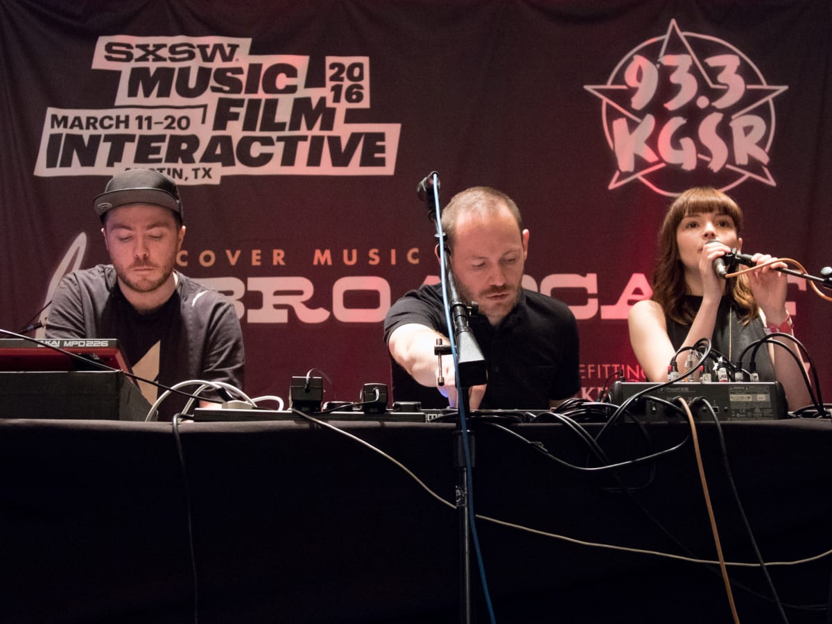 KGSR SXSW Live Broadcast Chvrches March 2016