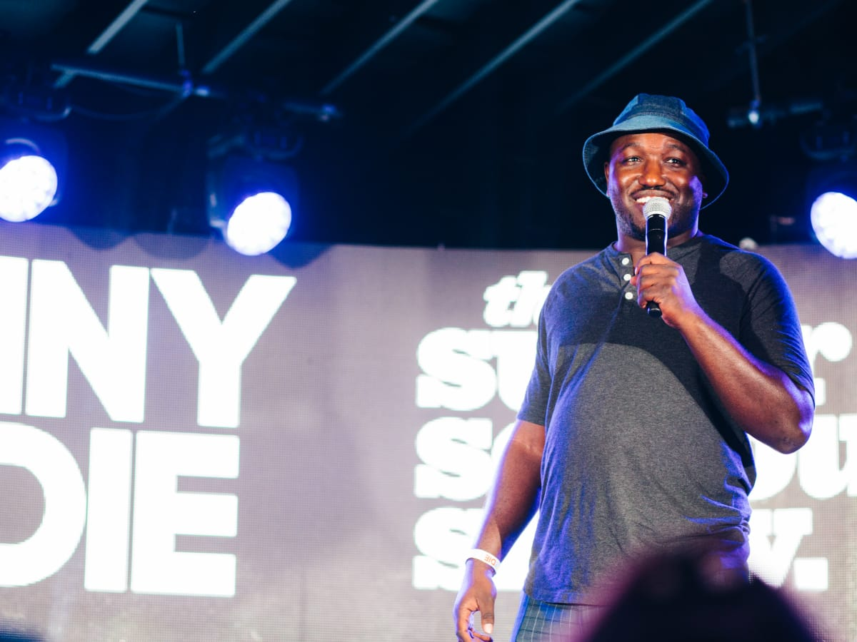 Funny or Die Junction SXSW party Scoot Inn March 2016 Hannibal Buress
