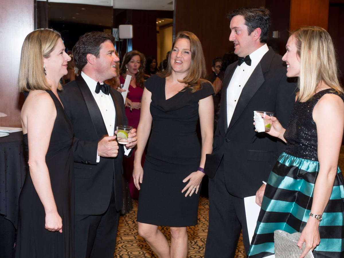 Convenant House Gala, march 2016, 26) Mimi Arnold, Alan Arnold,Dina Taaffe, Ryan Taaffe, Nancy Kate Prescott