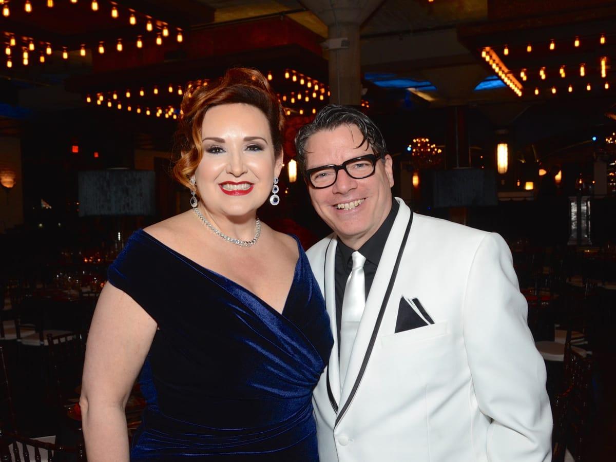 Tara Simon, Artistic Director Kenn McLaughlin at Stages Gala