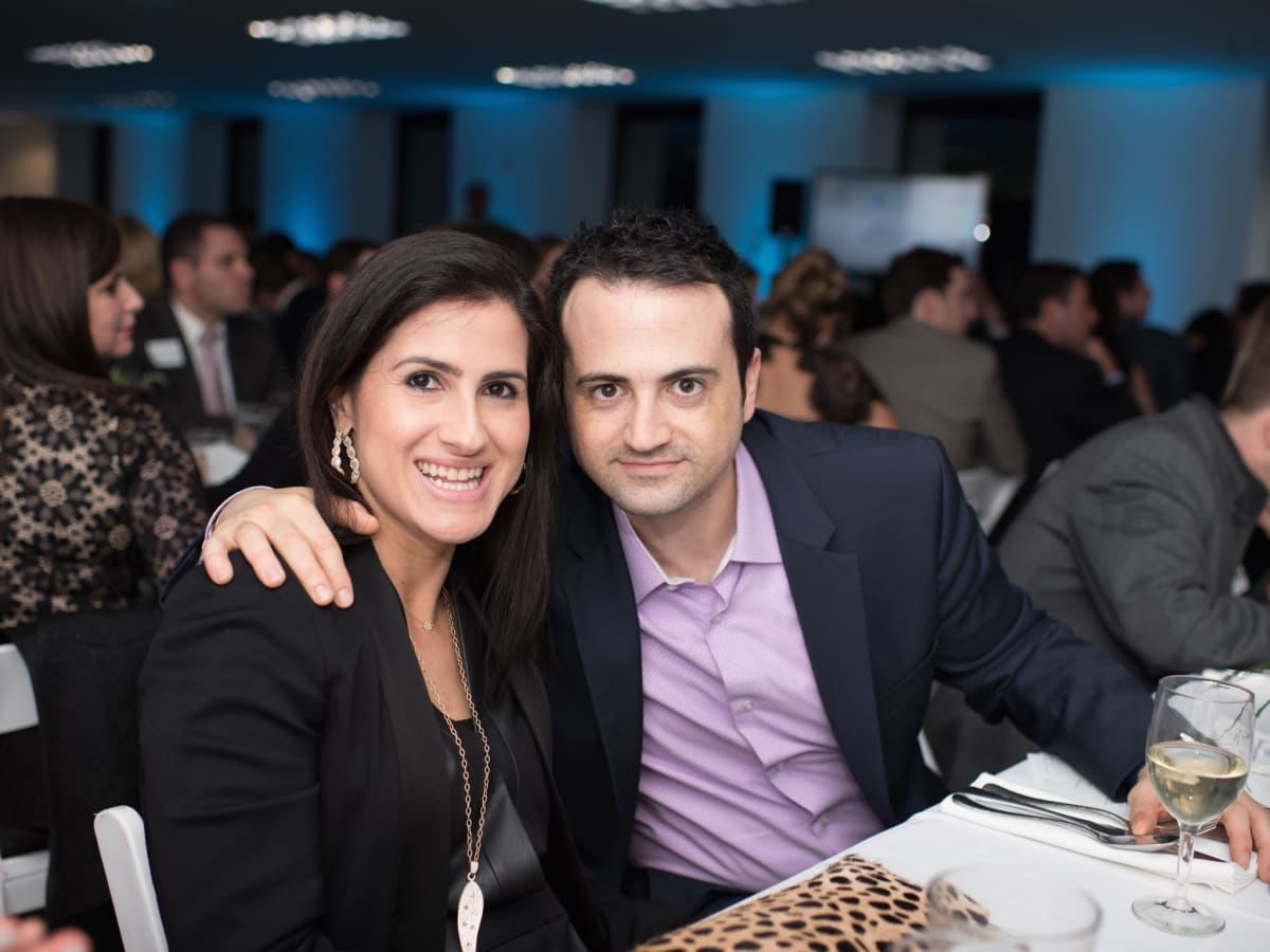 Lisa and Gilad Zadok