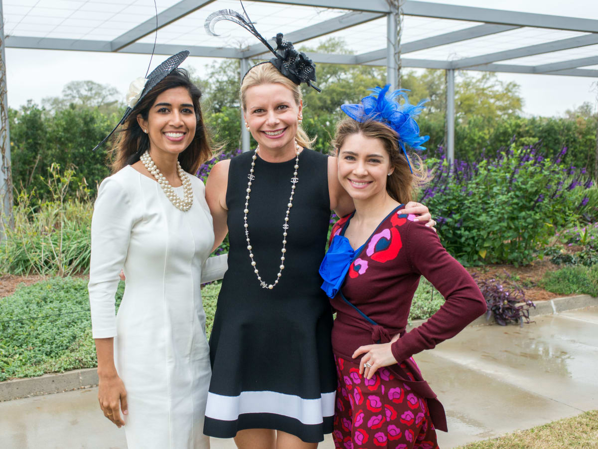 Hats in the Park, March 2016, Divya Brown, Valerie Dieterich, Rachel Volz