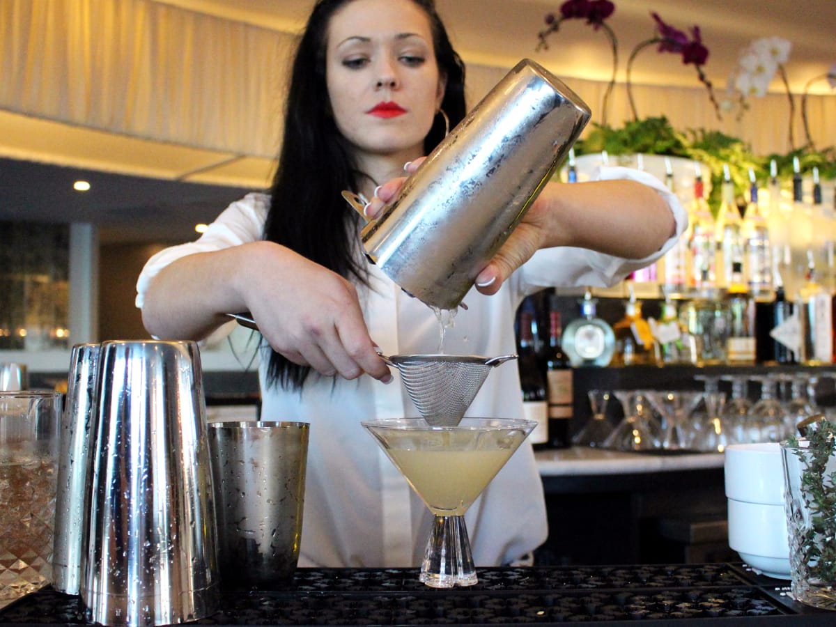 St Genevieve Austin bar Rock Rose March 2016 cocktail drink bartender