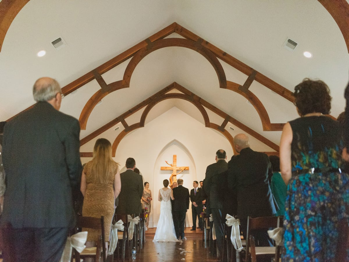 Heritage House wedding ceremony